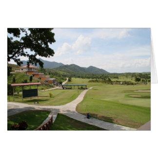 Carte Parc, golf et club national de San Juanico
