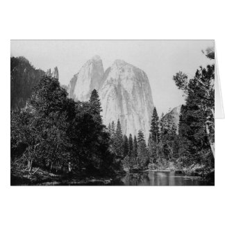 Carte Parc national 1866 de Yosemite de ~ d'EL Capitan