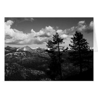 Carte Parc national de Yosemite