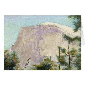 Carte Parc national de Yosemite :  Demi de dôme
