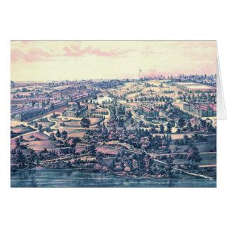 Carte Parc Philadelphie 1876 de Fairmount
