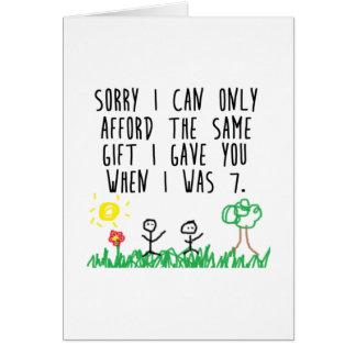 Carte Parents désolés