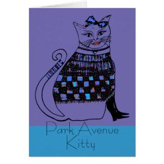 Carte Park Avenue Kitty