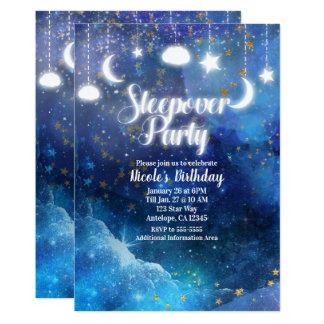 Carte Partie céleste de Sleepover de lueur d'étoiles