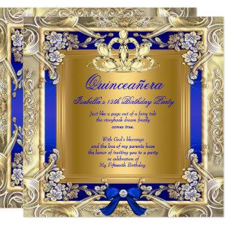 Carte Partie d'argent de bleu royal de princesse