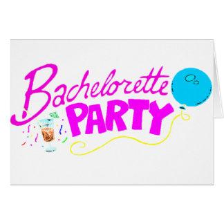 Carte Partie de Bachelorette