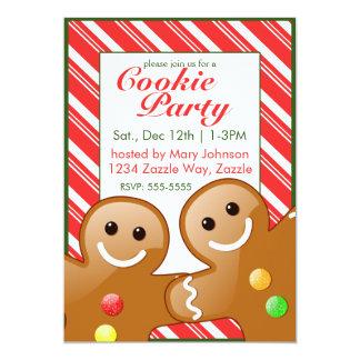 Carte Partie de biscuit de Noël