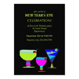 Carte Partie de fête de soirée du Nouveau an de