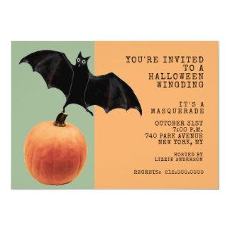 Carte Partie de mascarade de Halloween