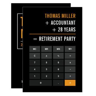 Carte Partie de retraite de comptable