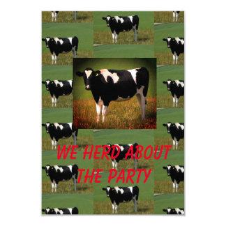 Carte Partie de troupeau de vache