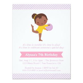 Carte Partie mignonne d'anniversaire de enfant de