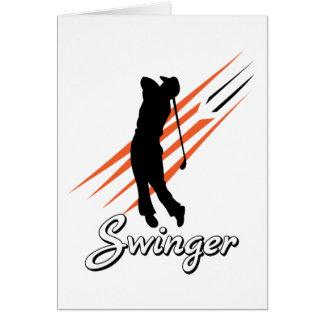 Carte Partouzeur drôle de golf