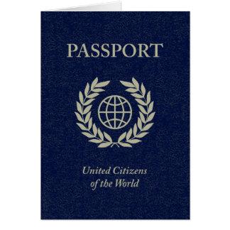 Carte passeport de marine