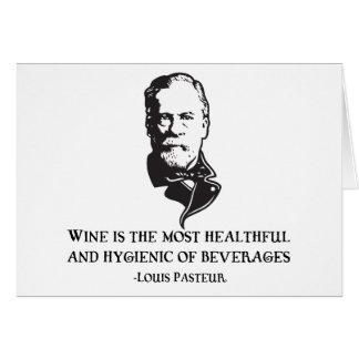 Carte Pasteur - vin