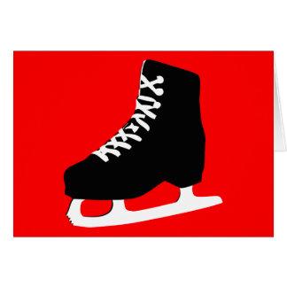 Carte patin de glace
