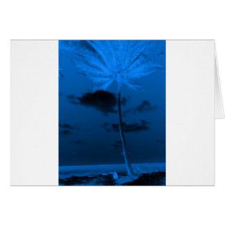Carte Paume bleue