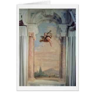 """Carte Paysage avec le cupidon, du """"Foresteria"""" (invité"""