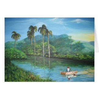 Carte Paysage cubain