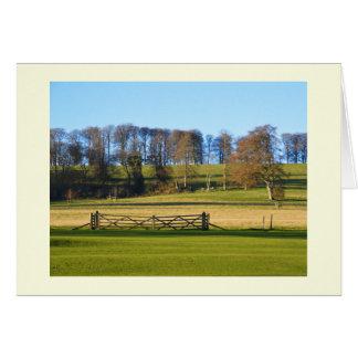 Carte Paysage d'hiver à Somerset