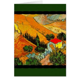 Carte Paysage et Chambre de Vincent van Gogh augmentés