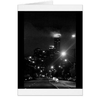 Carte Paysage urbain de Melbourne