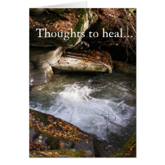 Carte Pensées à guérir