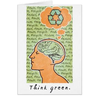 Carte Pensez les ressources intellectuelles vertes
