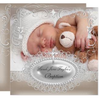 Carte Perle de baptême de garçon de fille de baptême de