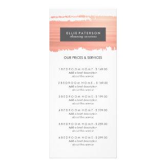 Carte personnalisable de support de menu de cartes doubles