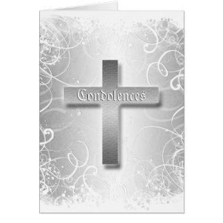 Carte Perte d'enterrement de condoléance