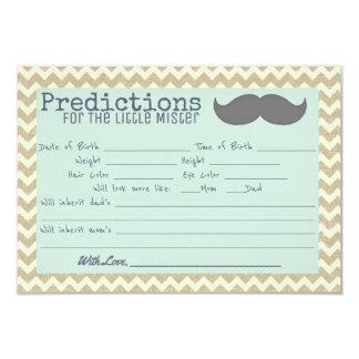 Carte Petit Monsieur Babyshower Predictions