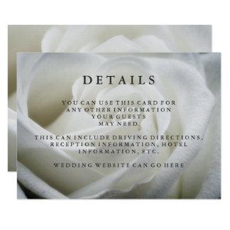 Carte Petits groupes élégants d'invité de mariage de