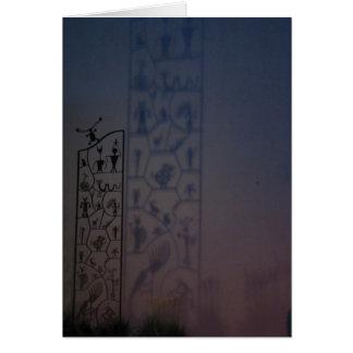 Carte pétroglyphe, art, photographie