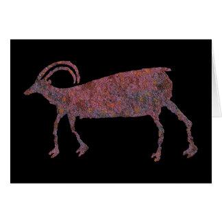 Carte Pétroglyphe de moutons de Big Horn