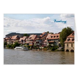 Carte Peu de Venise à Bamberg