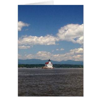 Carte Phare du fleuve Hudson