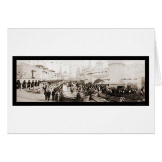 Carte Photo 1903 de Luna Park Coney Island