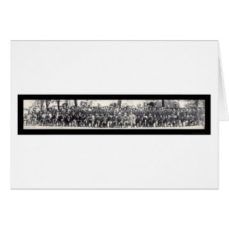 Carte Photo 1917 des fusiliers WWI