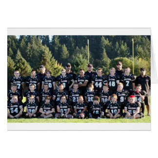 Carte Photo 2010 d'équipe de Falcons de Thurston