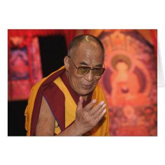 Carte Photo de Dalai Lama/carte 2 de Dalai Lama Thibet