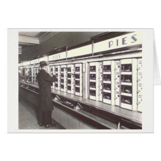 Carte Photo de distributeur automatique de NYC par la