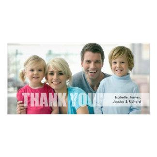 Carte photo de famille de Merci