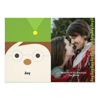"""Carte photo de vacances d'illustration de """"joie"""""""