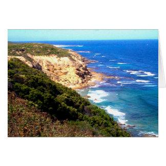 Carte Photo le long de grande route d'océan en Australie