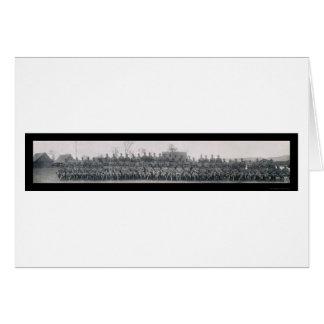 Carte Photo marine 1911 de Guantanamo de camp