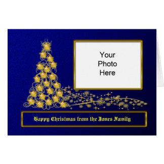 Carte photo personnalisé de Noël