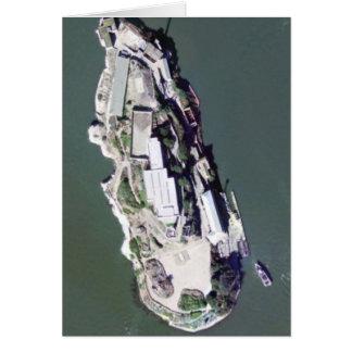 Carte Photographie aérienne d'Alcatraz