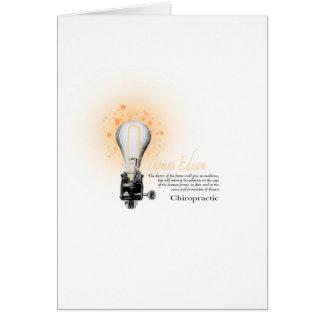 Carte Pièce en t de Thomas Edison