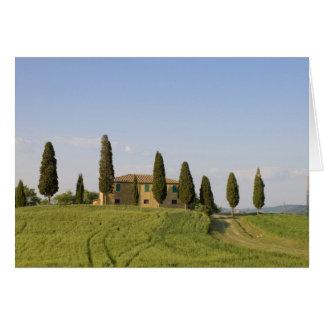 Carte Pienza, d'Orcia de Val, province de Sienne,